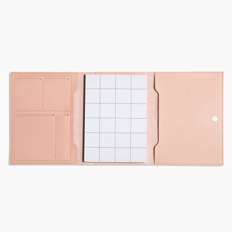 Medium Minimalist Folio V2 in Blush