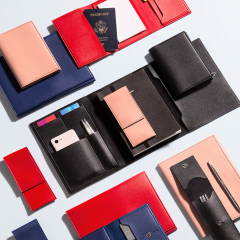 Minimalist Folio Collection Medium Folio Red