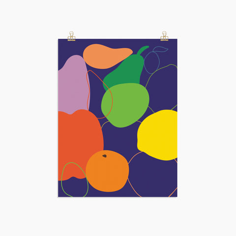 Mixed Fruit Print