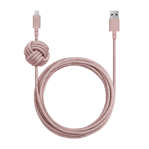 Native Union Night Cable in Rose
