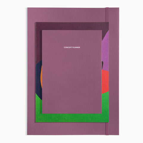 Next Page Collection Project Planner Concept Notebook Plum