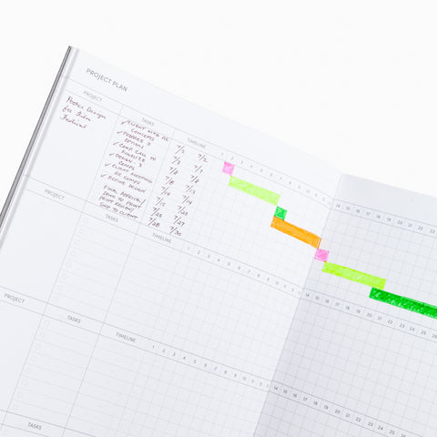 Poketo Project Planner Interior Page