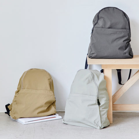 Packable Backpack in Dove Gray