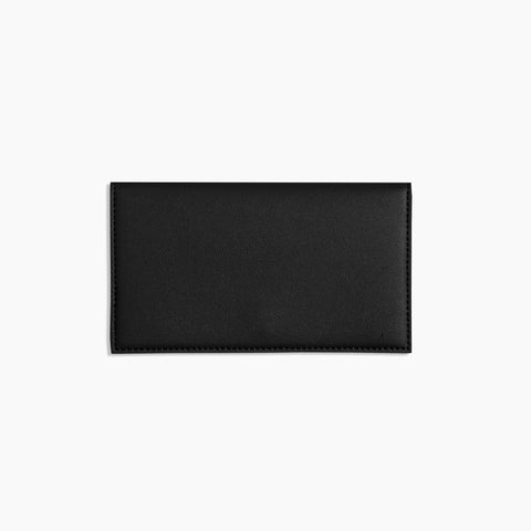 Minimalist Travel Wallet Black