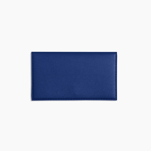 Minimalist Travel Wallet Cobalt