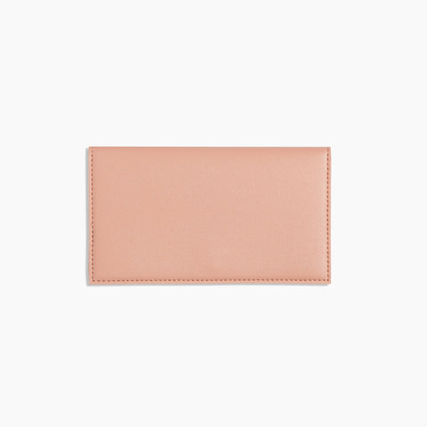 Minimalist Travel Wallet Blush