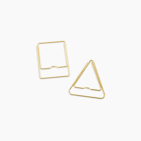 Pen Clip Set Square Triangle