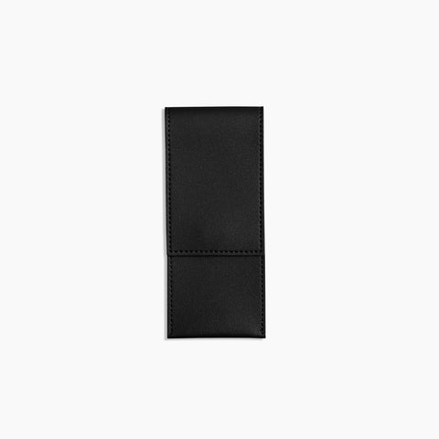 Elastic Minimalist Pen Pouch in Black