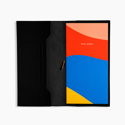 Petite Folio Black Travel Journal