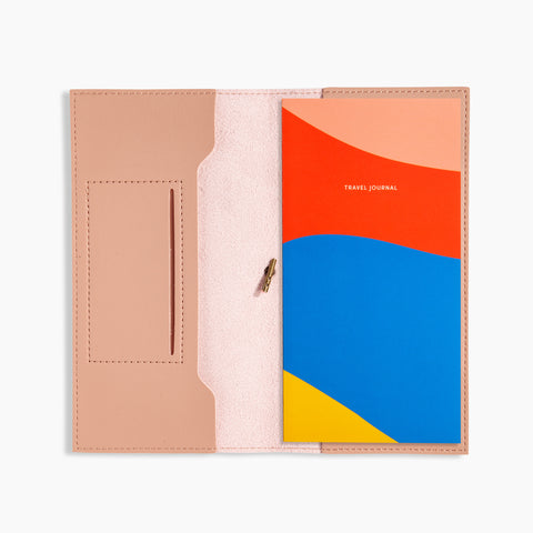 Petite Folio Blush Travel Journal