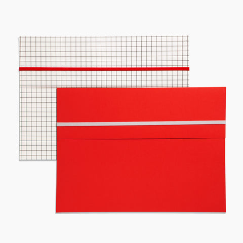 Pocket Folder Set of 2 in Grid