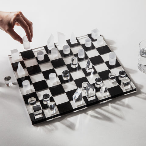 Prism Lucite Chess Set