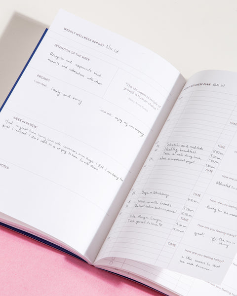 Self Planner Inside Pages