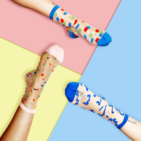 Poketo Sheer Sock Collection