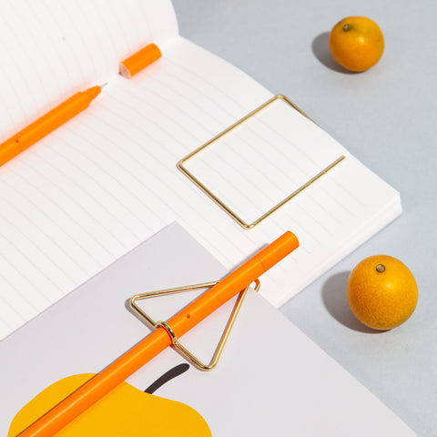 Simple Lined Notebook Interior