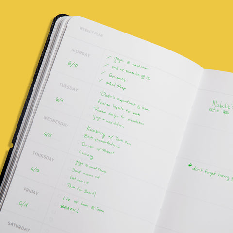 Simple Planner Interior Page