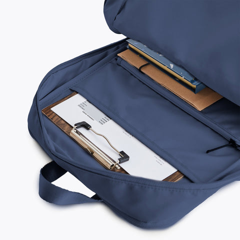 The Weekday Set Simple Backpack Navy