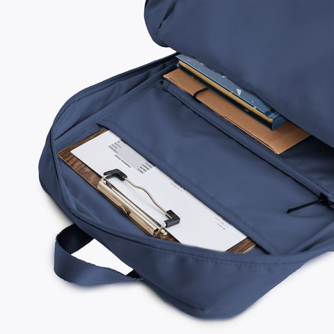 Simple navy blue Minimalist Backpack