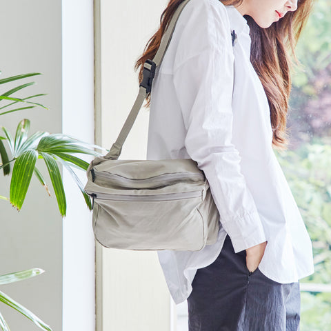 Sling Crossbody in Dove Gray