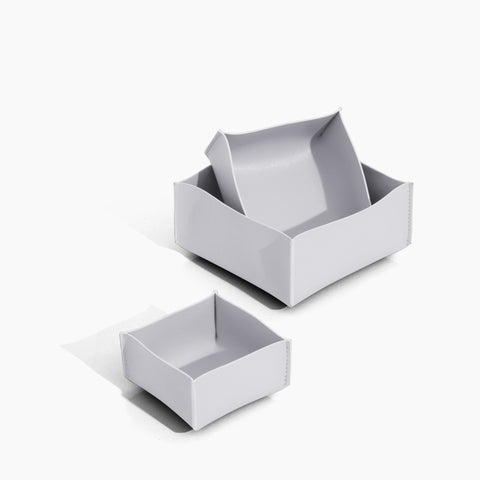 Minimalist Storage Box Set in Gray