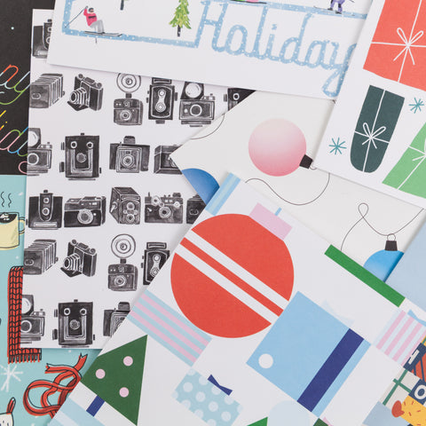Surprise Holiday Card Pack of 10
