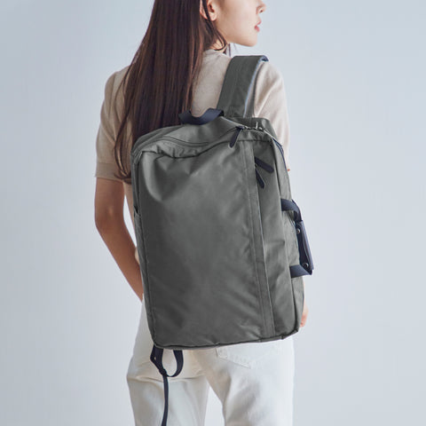 Ted Weekender Gray Model Lifestyle