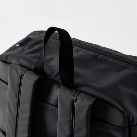 Ted Weekender Bag Black Detail