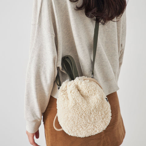 Teddy Crossbody in Cream