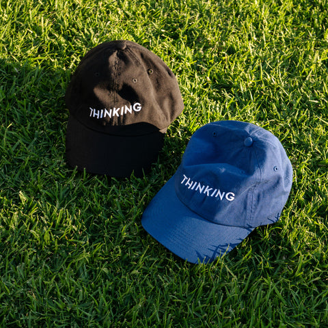 Thinking Cap in Black and Blue