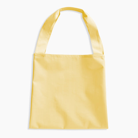 Twin Tote Yellow Bag
