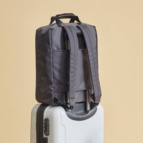 Voyager Backpack with suitcase sleeve for travel