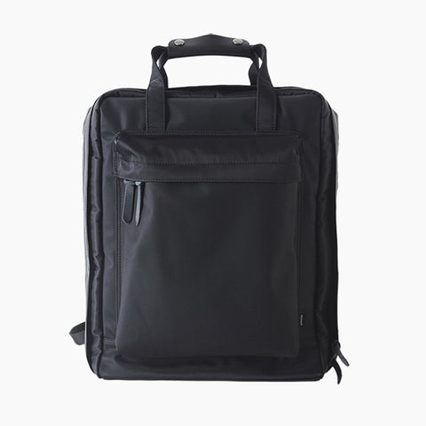 Voyager Backpack in Black