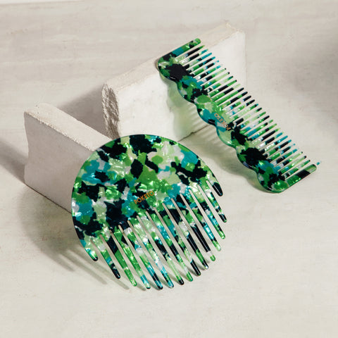 Wave Comb in Green Multi
