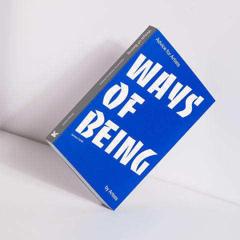 Ways of Being Book Front Cover Blue