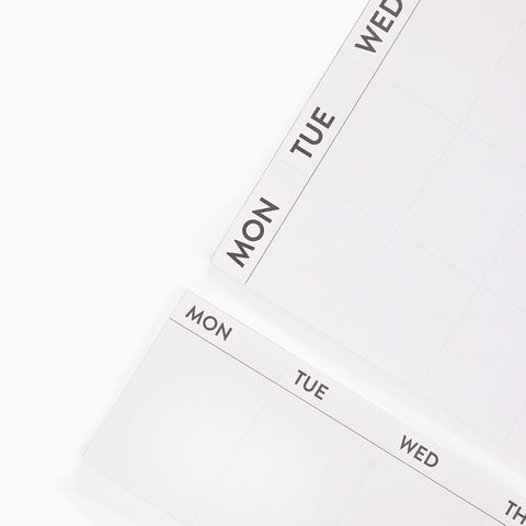 stick to it weekly planner calendar
