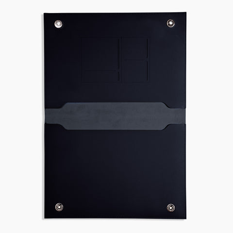 "XL 15"" Minimalist Folio in Navy"