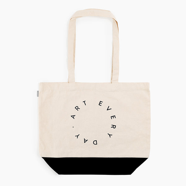 Art Every Day Tote in Black