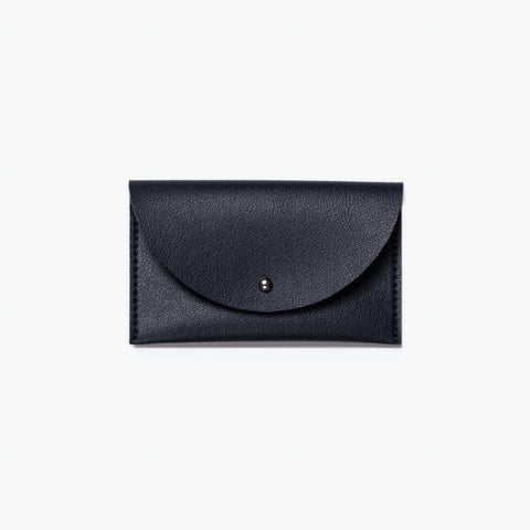 Minimalist Card Case in Navy