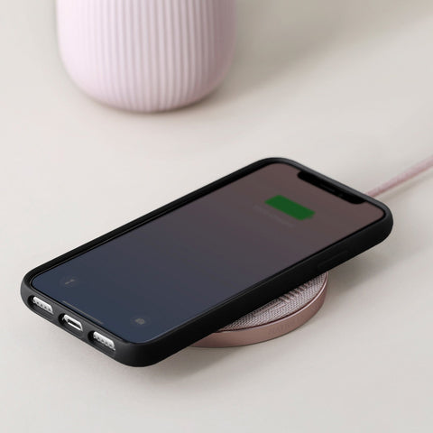 Native Union Drop Wireless Charger in Rose