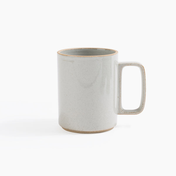 Hasami Porcelain Large Mug in Gray