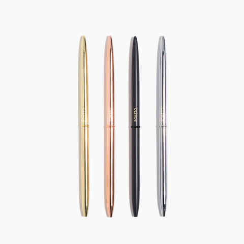 Slim Pen Set Classic Gold Rose Black SIlver