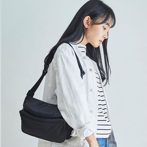 Sling Crossbody in Black