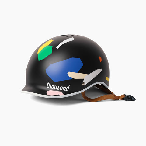Poketo x Thousand Bike Helmet in Color Blocks