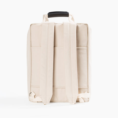 voyager backpack natural beige