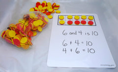 2-colored Foam Counters