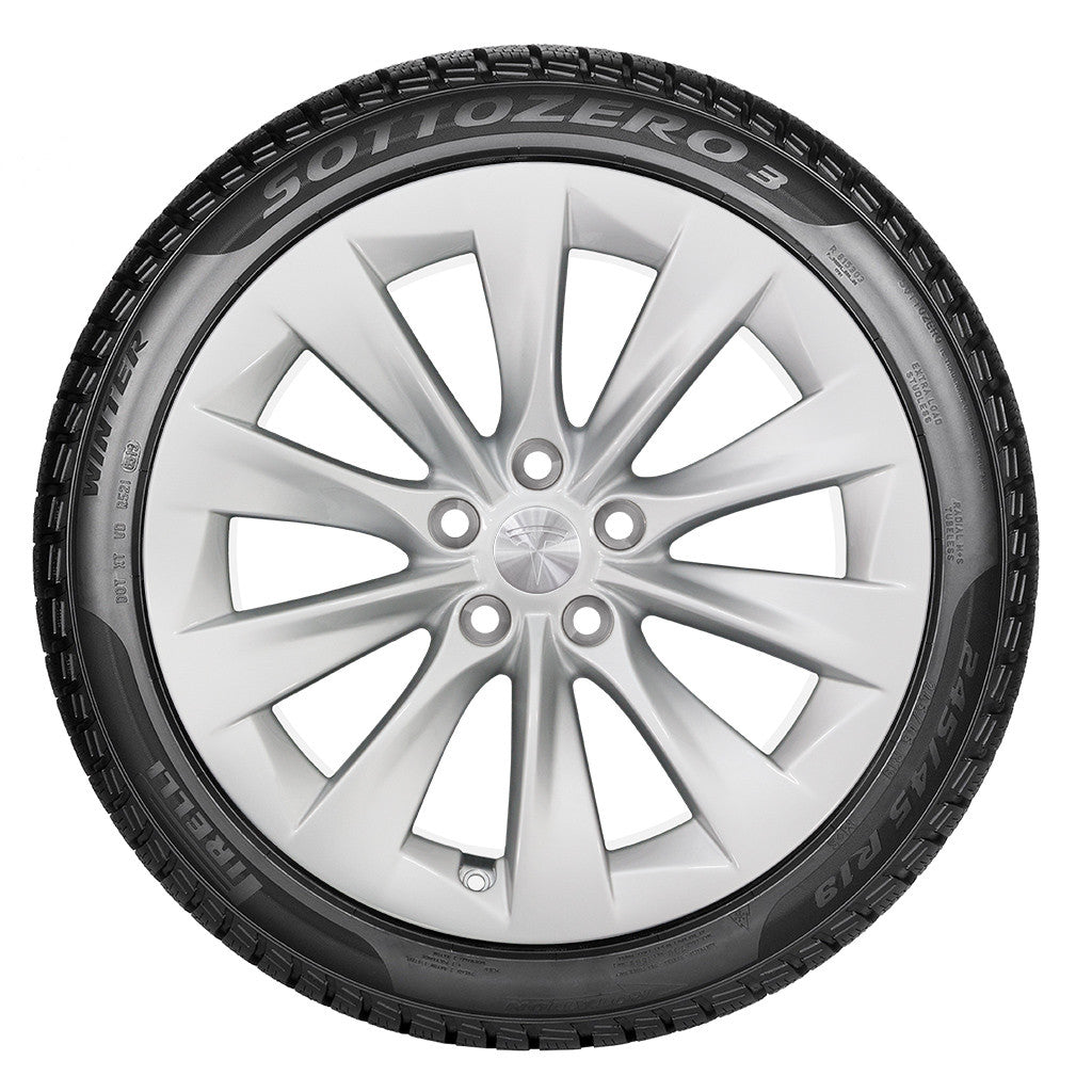 Tesla 19 Quot Slipstream Wheel And Winter Tire Package