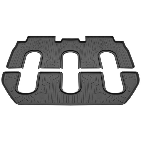 Model X All-Weather 7 Seat Floor Mat Set