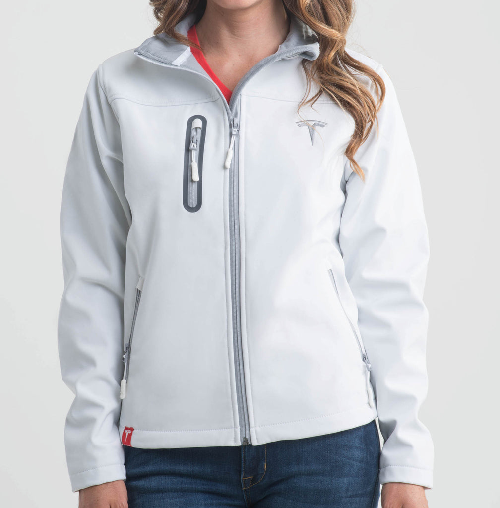 Women's White Corp Jacket