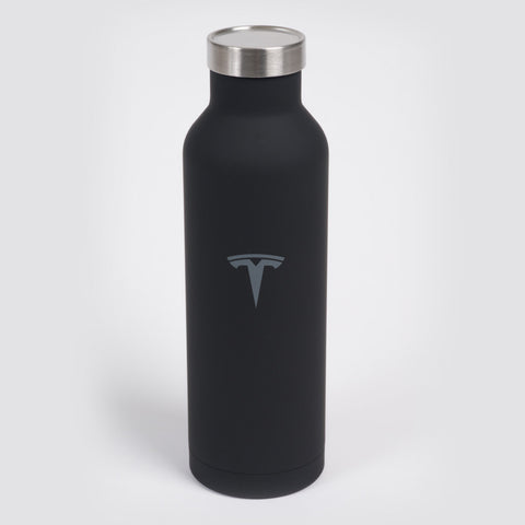 Black Stainless Steel Water Bottle