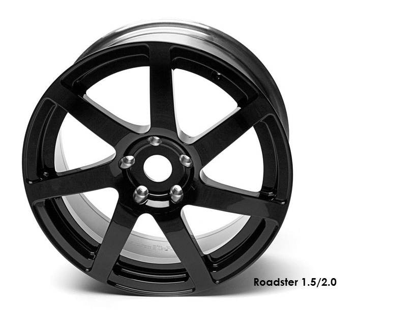 Black Forged Wheel Set